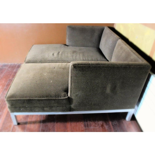 Brown Jordan Modern Brown Chaise Lounge Daybed For Sale - Image 8 of 10