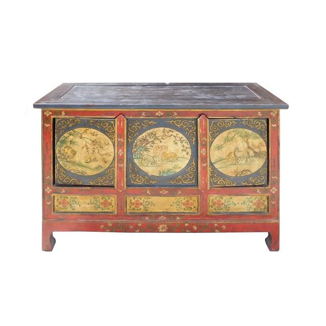 Chinese Tibetan Credenza - Image 2 of 7
