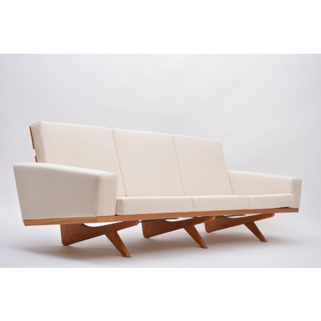 Oak Sofa by Georg Thams for as Vejen Polstermøbelfabrik, 1964 For Sale - Image 12 of 12