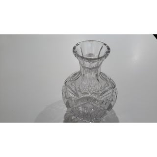 Heavy Weighted Exquisite Deep Cut Glass Carafe Preview