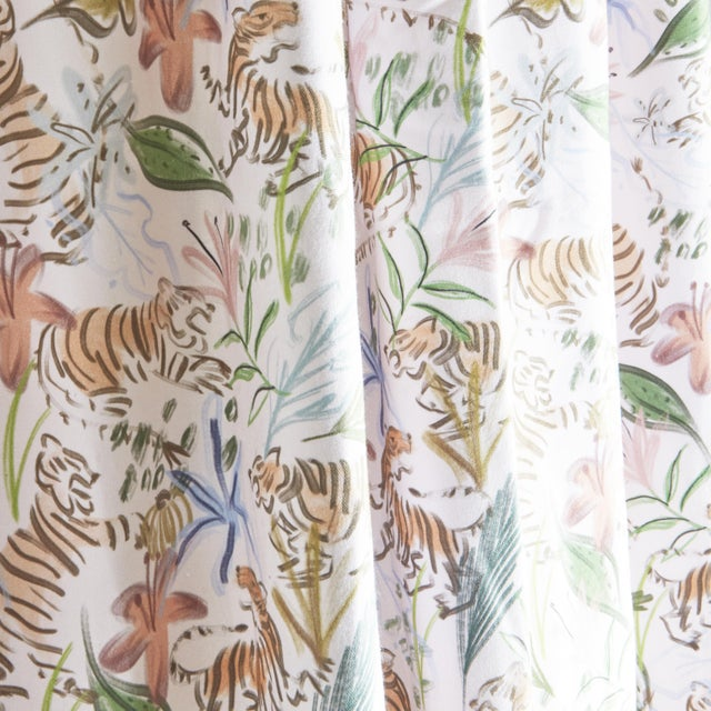 Teeming with flowers, fronds, and felines, our Frida curtains will liven up any room--and are incredibly versatile. Try...