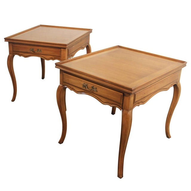 Widdicomb French Provincial Side Tables - A Pair - Image 1 of 5