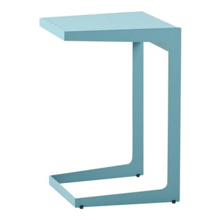 Cane-Line Time-Out Side Table, Aqua For Sale