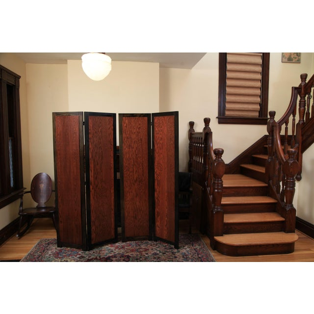 2010s 'Wolf Angst' Deep Purple Room Divider For Sale - Image 5 of 8