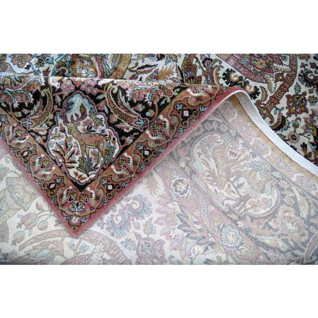 Vintage Besmer Wool Rug - 8′4″ × 11′8″ - Image 8 of 10