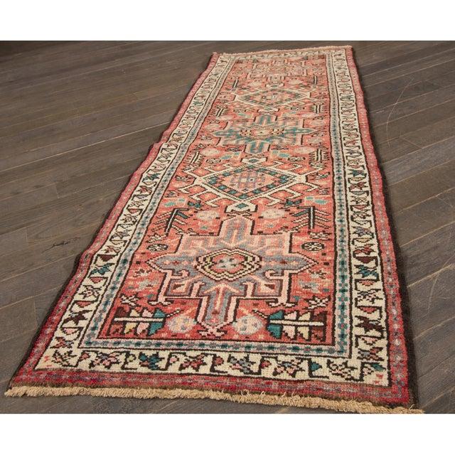 Apadana - Vintage Persian Heriz Rug, 2' x 5' - Image 4 of 5