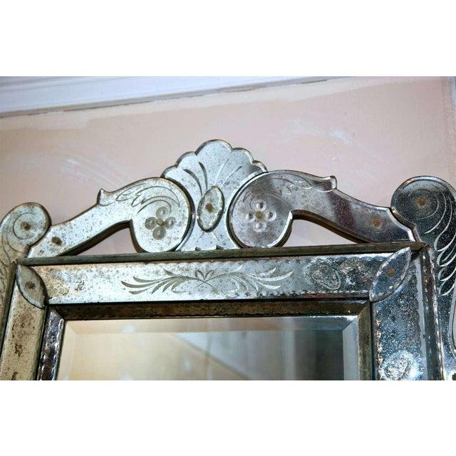 Venetian Glass Wall Mirror - Image 2 of 6