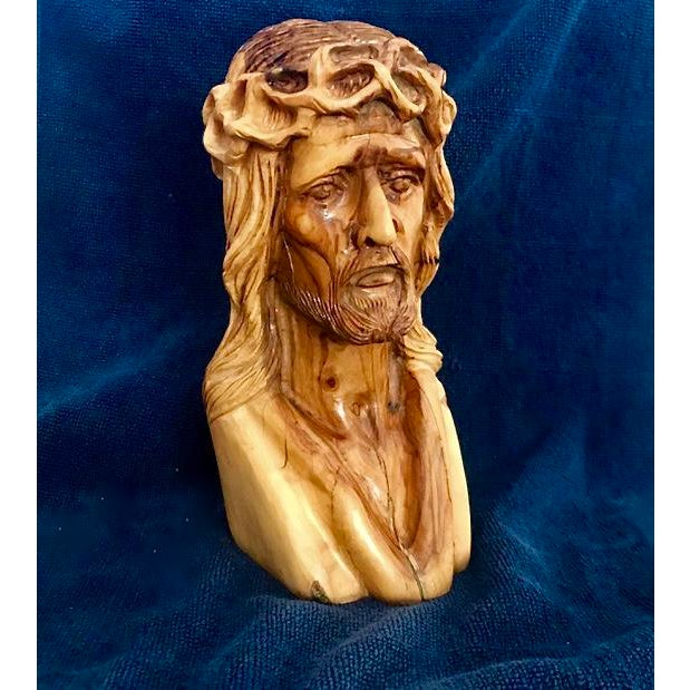 Hand Carved Olive Wood Sculpture - Image 9 of 9