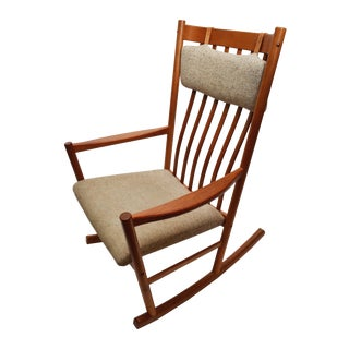 Hans Wegner Vintage 1960s Danish Rocking Chair