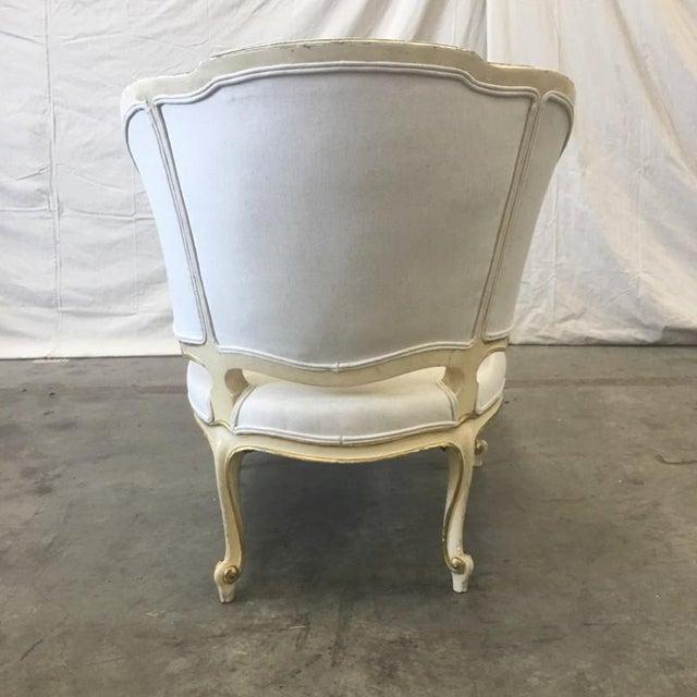 Italian Parcel Gilt Chaise Lounge Recaimier Fainting Sofa - Image 6 of 8