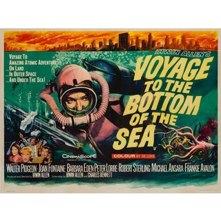 """Tom Chantrell """"Voyage to the Bottom of the Sea"""" For Sale"""