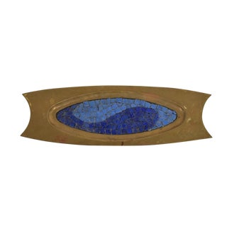 Midcentury Mexican Modernist Salvador Teran Decorative Tray, 1950s For Sale