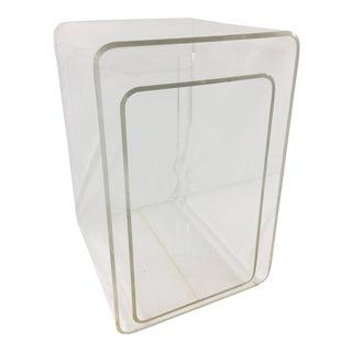 Mid-Century Modern Lucite Nesting Tables - Set of 2