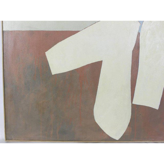 David Bell Large Acrylic on Canvas Abstract Painting - Image 6 of 11