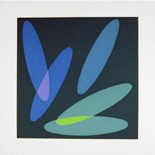 "Helen Thomas, ""Untitled 2"", Abstract Screenprint For Sale"