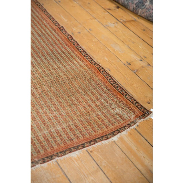 """Old New House Antique Fine Senneh Rug - 4'3"""" X 6'2"""" For Sale - Image 4 of 13"""
