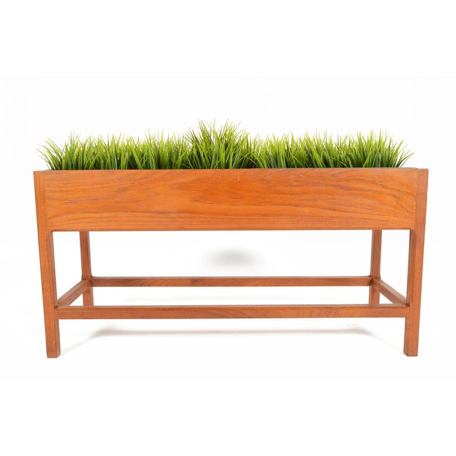 Danish Modern Teak Planter by Askel Kjersgaard For Sale - Image 5 of 8