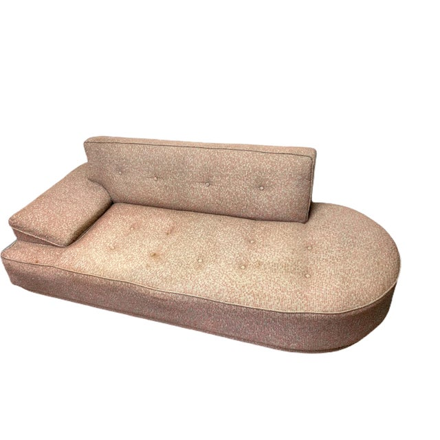 Vintage 1950's Mid-Century Modern Fainting Couch For Sale - Image 13 of 13