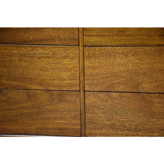 Janus Collection Mt. Airy Walnut Dresser For Sale - Image 10 of 11