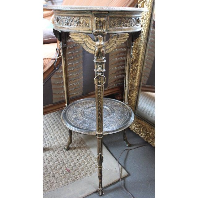 19th Century Gilt Metal Gueridon Table - Image 2 of 9