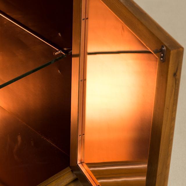 Renzo Rutili Asian Modern Four-Door Cabinet by Renzo Rutili, 1960s For Sale - Image 4 of 6