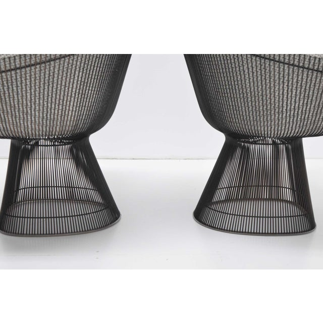 Pair of 1960s Bronze Warren Platner Lounge Chairs For Sale In Dallas - Image 6 of 12