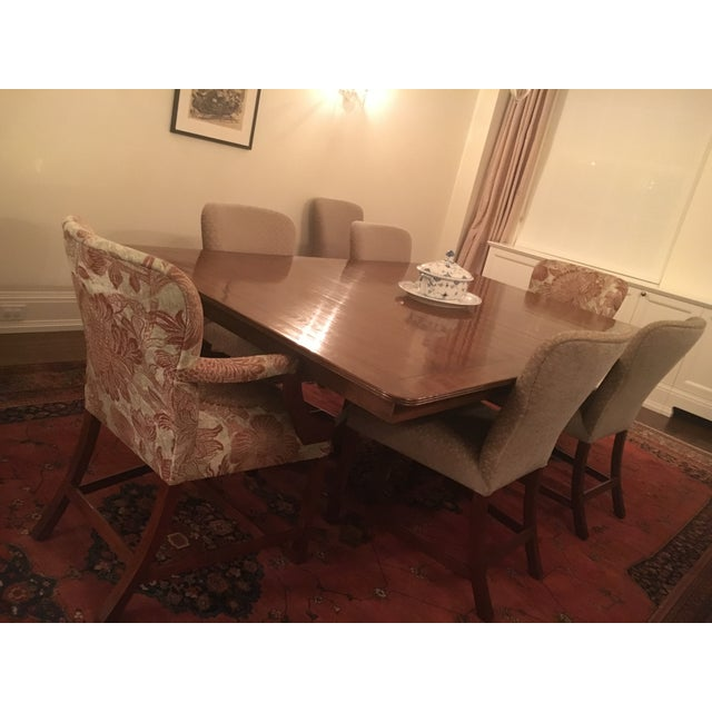Brown Rose Tarlow Custom Pickwick Dining Table For Sale - Image 8 of 9