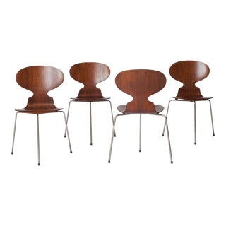 Ant Chairs #3100 by Arne Jacobsen For Sale