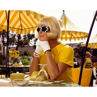 1967 Doris Day in Yellow (14x11 Canvas) For Sale