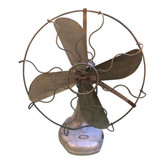 20th Century Magneti Marelli Mid Modern Century Fan For Sale