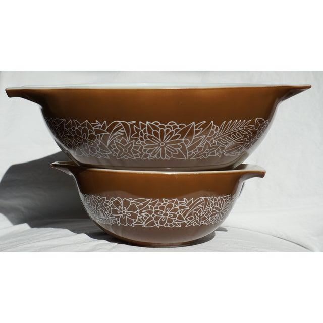 Vintage Pyrex Mixing Bowls - Pair - Image 2 of 5