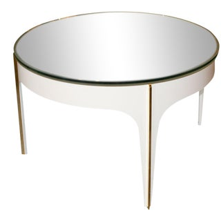 ma+39's Custom Ivory Magnifying Lens Coffee Table