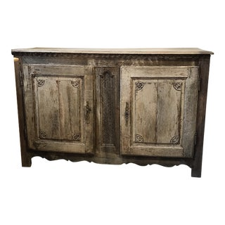 19th-C. Bleached Buffet From Belgium For Sale