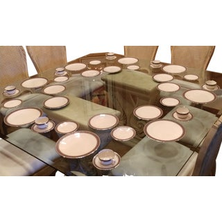 1968 Franciscan Constantine China Dinnerware - 40 Pc. Set For Sale