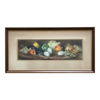 Original Still Life Watercolor by Ruth Baderian For Sale