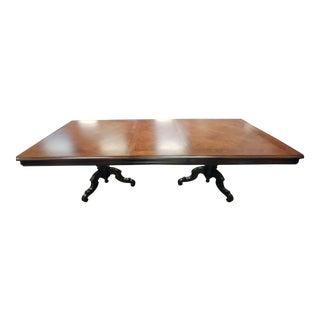 Thomasville Furniture Ernest Hemingway Castillian Pedestal Dining Table For Sale