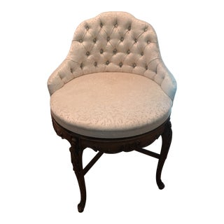 Early 20th Century Vintage j.b. Van Sciver Swivel Chair For Sale
