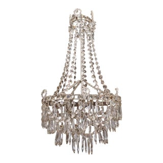 Early 19th Century French Crystal Chandelier For Sale