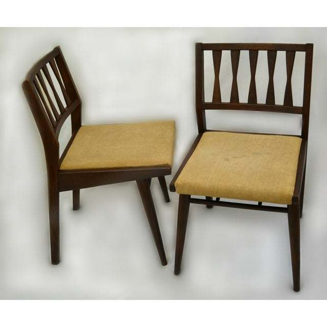 Holman Danish Modern Dining Room Chairs - Pair - Image 8 of 8