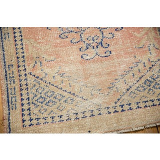 "Vintage Distressed Oushak Rug - 2'7"" X 4'1"" Preview"