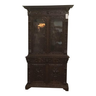 Renaissance Revival 19th Century Book Case