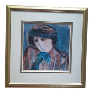 Barbara Woods Lithograph, Signed For Sale
