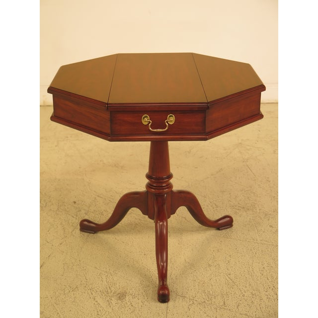 Henkel Harris Octogonal Cherry Jefferson Table - Image 10 of 10