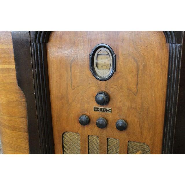 Philco Bar & Radio Cabinet For Sale - Image 7 of 8