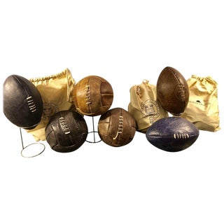 Group of Footballs and Soccer Balls by Timothy Oulton, Selling Individually For Sale