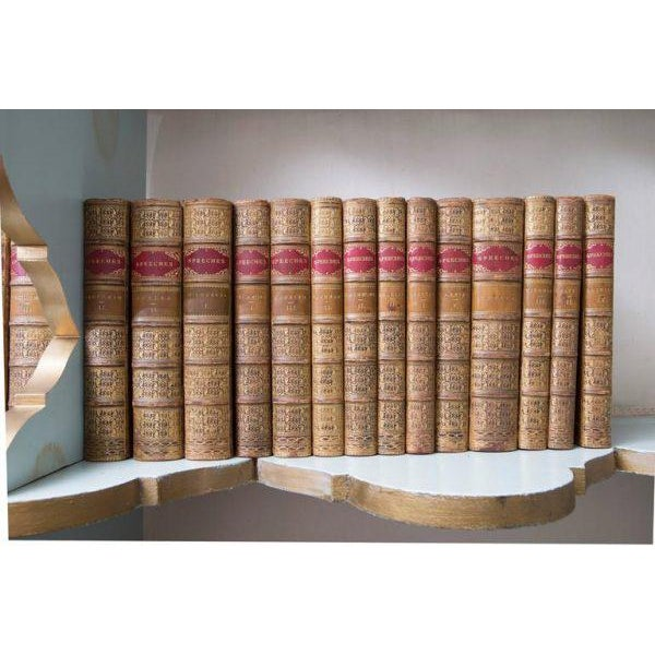 A stunningly crafted collection of books entitled Speeches. Each volume contains a compilation of speeches by political...