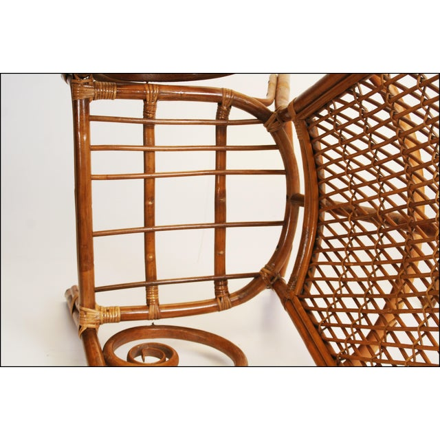 Vintage Bamboo Bentwood Chairs - A Pair For Sale - Image 7 of 11