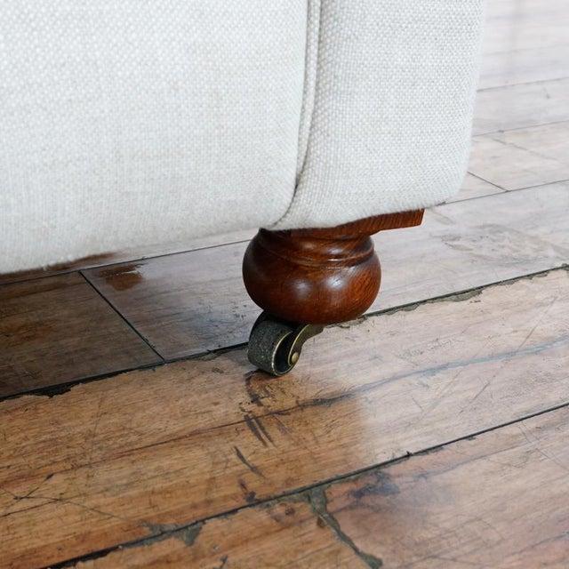 2010s Restoration Hardware Kensington Upholstered Armchair For Sale - Image 5 of 7