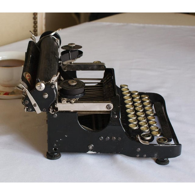 1912 Corona Portable Folding Typewriter For Sale - Image 4 of 9