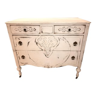 1930s Shabby Chic Chest of Drawers For Sale